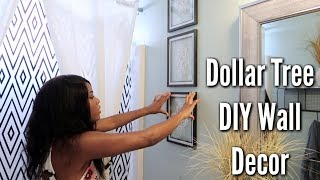 ✨Glam Home✨ DIY DOLLAR TREE WALL DECOR