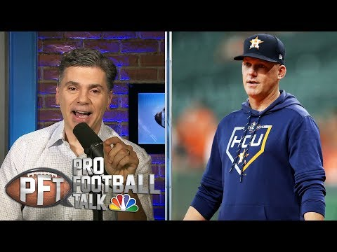 How the Houston Astros' sign-stealing scandal affects the NFL | Pro Football Talk | NBC Sports