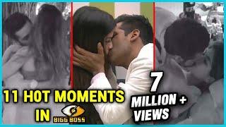 11 H0t INTIMATE Moments from Bigg Boss 11 | Puneesh Sharma, Bandgi Kalra, Shilpa Shinde, Arshi Khan