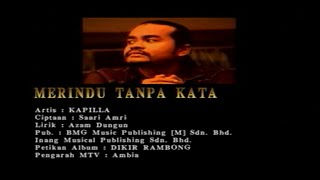 Download lagu Kapilla Merindu Tanpa Kata Mp3