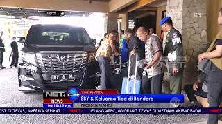 Video SBY dan Keluarga Tiba di Bandara Untuk Menghadiri Pernikahan Putri Presiden Jokowi - NET24 MP3, 3GP, MP4, WEBM, AVI, FLV Juli 2018