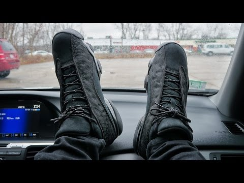"The Air Jordan Retro 13 ""Black Cat"" ON FEET!"