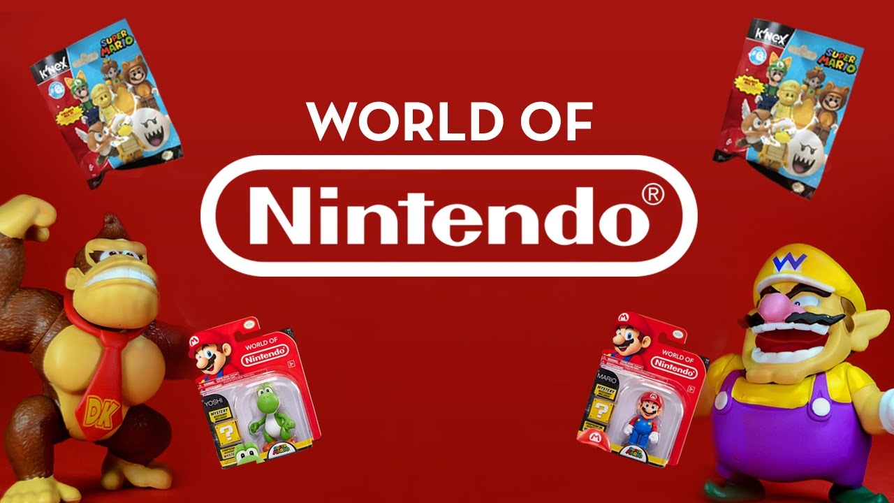 NINTENDO WORLD & BLIND BAGS!
