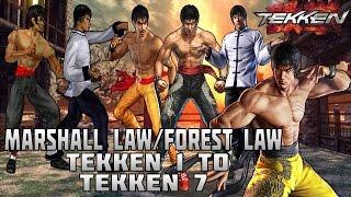 Video Tekken - Marshall Law/Forest Law Evolution (1994-2016) download in MP3, 3GP, MP4, WEBM, AVI, FLV January 2017