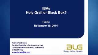 TGDG Present: Impact benefit agreements (Talk 4 of 7)