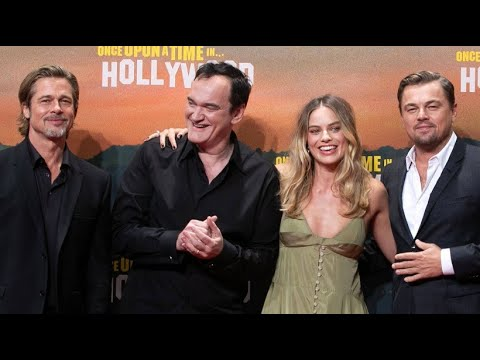 Tarantinos Premiere mit Starensemble: »Once Upon a Time in Hollywood« in Berlin