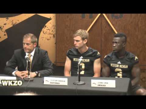 WMU Media Day with PJ Fleck, Tyler Van Tubbergen, and Johnnie Simon