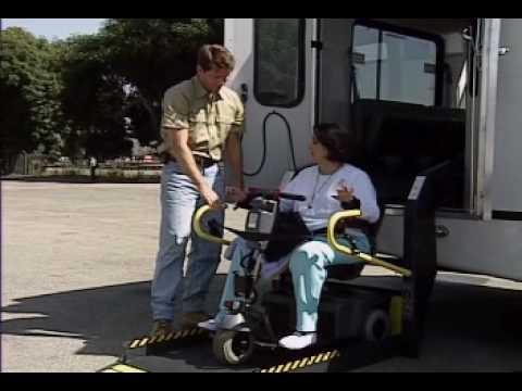 Ricon S-Series Wheelchair Lift Operation - Schetky NW Bus Sales
