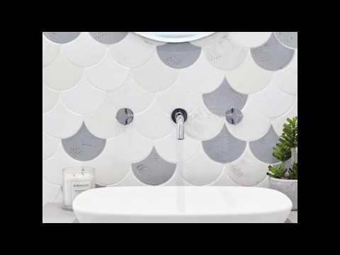 Met deze tegels in je badkamer voel je je meteen een zeemeermin!