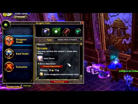 dungeon finder - Leave a like to help out please! The interfaces for the PvP window looks great! Also, a way to get some rep without dailies? Sweet! --- Twitter: http://twitt...