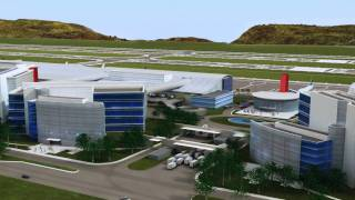 Airis CLMM Airport Fly-Thru