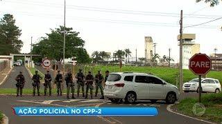 Bauru: ação policial no CPP-2