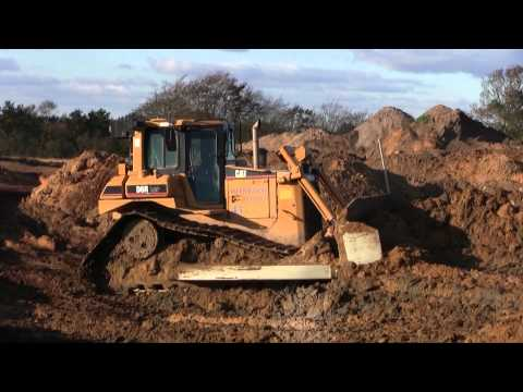 Cat D6R II LGP Pushing Volvo A35 Loads
