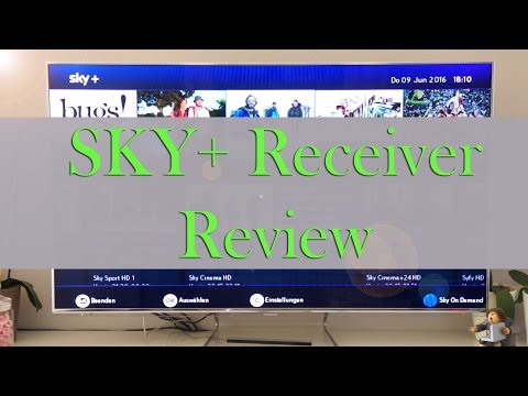 Sky+ HD Receiver - Review & Funktionen