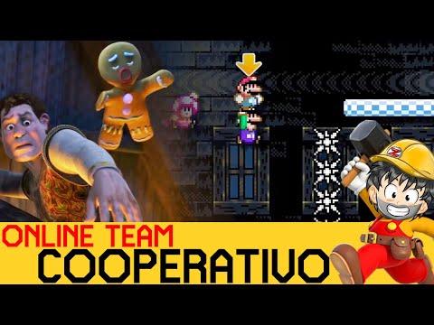 Cuando los HÉROES Aparecen en el ONLINE - COOPERATIVO ONLINE #2 | Super Mario Maker 2 - ZetaSSJ