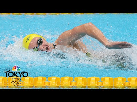 Ariarne Titmus wins 200m free semi, will face Katie Ledecky for gold | Tokyo Olympics | NBC Sports