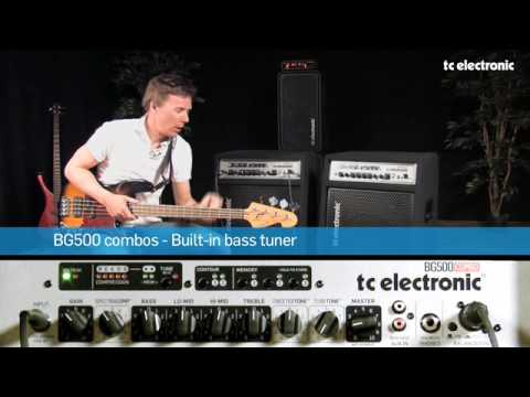 TC Electronic BG500 Bass Combos - Built-in bass tuner