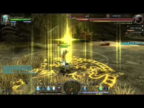 Dragon Nest Sea Lvl 40 Priest Solo Cerberus Part 3