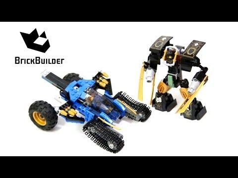 Vidéo LEGO Ninjago 70723 : Le tout-terrain de combat 2 en 1