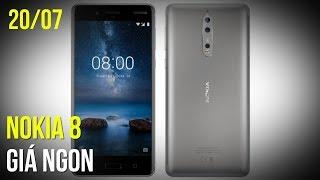 Nokia 8 lại có một tin vui dành cho các fan khi có thông tin xác nhận Nokia 8 sẽ có một mức giá rất phải chăng khi được trang bị cấu hình mạnh mẽ như vậy. Bên cạnh đó là các thông tin liên quan đến iPhone 8, Bphone 2, iPhone SE---Channel: https://www.youtube.com/user/TGDDVideoReviewsWebsite Thế Giới Di Động: https://www.thegioididong.com