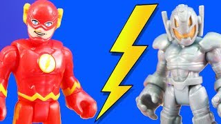 Video Imaginext Flash Speedster Loses His Speed To Ultron + Justice League Teams Up With Villains MP3, 3GP, MP4, WEBM, AVI, FLV November 2018