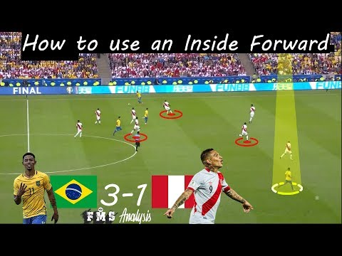 Brazil 3-1 Peru | Tactical Analysis | How To Use Inside Forwards | Copa America 2019 Final |