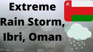 Ibri Oman  City new picture : Ibri, Oman in Heavy Rain Storm! (RARE!)