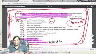 CA New course/Syllabus CA Update-3 ON IPCC COURSE CONTENT: CA ...