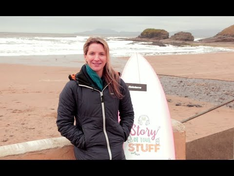 WATCH how surfing champion turned Marine Scientist Easkey Britton helped us launch the EPA's The Story of Your Stuff campaign.