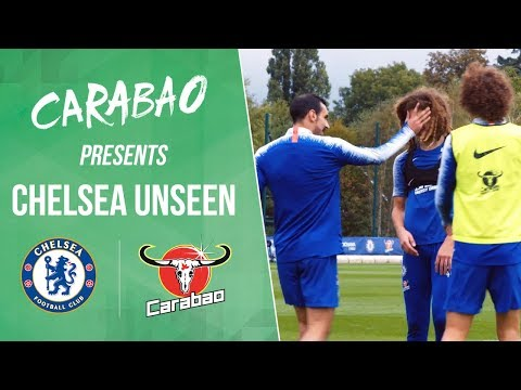 Video: Funny Luiz Two Touch Challenge, Ampadu's Punishment! | Chelsea Unseen
