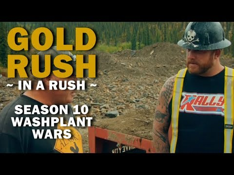Gold Rush (In a Rush) | Season 10, Episode 8 | Washplant Wars