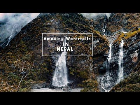 Beautiful Waterfalls in Nepal | Big Waterfalls |Travel Nepal