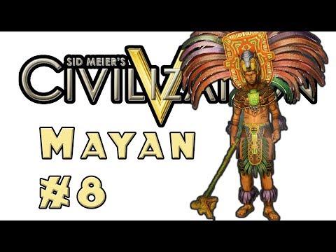 Let's Play: Civilization 5! -- Mayan -- Part 8 (видео)