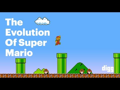The Evolution Of Super Mario