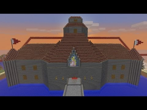Minecraft - Peach's Castle (Super Mario 64) - Episode 399 (Nintendoland)