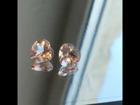 Natural Peach Morganite