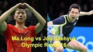 Game Full Ma long vs Joo Saehyuk Semi Final Table Tennis Team Rio 2016. Olimpíadas Rio de Janeiro