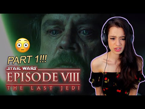 (..he did WHAT now?!) FIRST TIME WATCHING STAR WARS EPISODE 8: THE LAST JEDI - part 1/2 reaction
