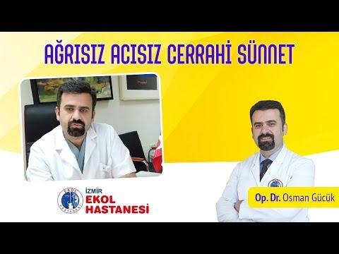 Ağrısız, Acısız, Kanamasız Sünnet - Opr. Dr. Osman Gücük - İzmir Ekol Hastanesi