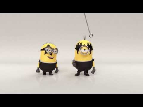 Since the Minion Movie is Huge how about some KISS Minions?