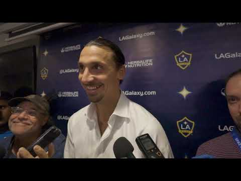 Video: Zlatan Ibrahimovic declares himself best to ever play in Major League Soccer after hat trick
