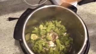 Broccoli Chicken Dinner with Millet (Gluten-free, Dairy-free, Paleo option, Grain-free option)