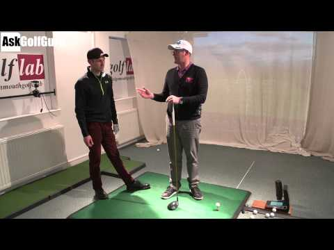 Coach Lockey Golf Lesson With Mark Crossfield