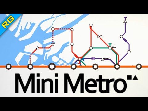 Японцы любят делать это быстро [RG] [Let's Play Mini Metro]