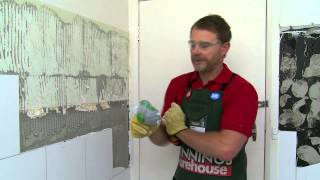 How To Remove Tiles - DIY At Bunnings