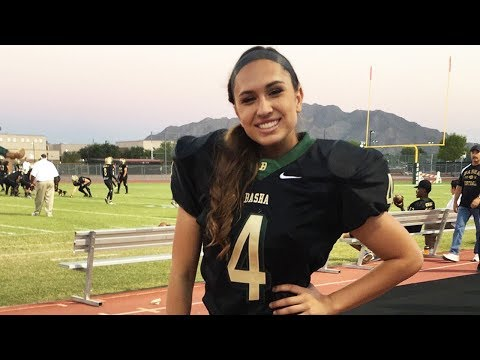 Becca Longo Could Be the FIRST Woman Ever to Play in the NFL