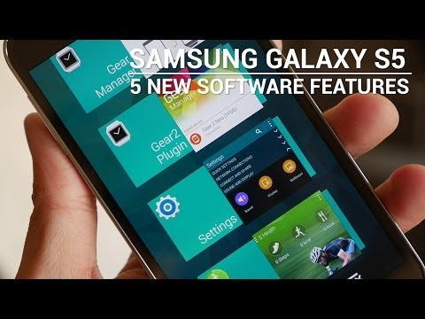 Software - Josh looks at 5 of the more significant additions to the new version of Touchwiz in the Samsung Galaxy S5. Music by Leandro Pulmones http://www.soundcloud.co...