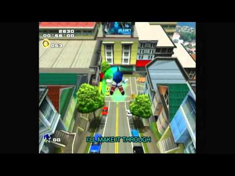 Escape from the City lyrics Sonic Adventure 2 city escape 歌詞