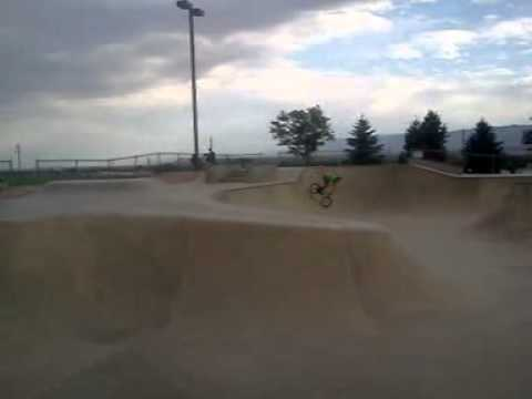 My First 720 at canon city skate park