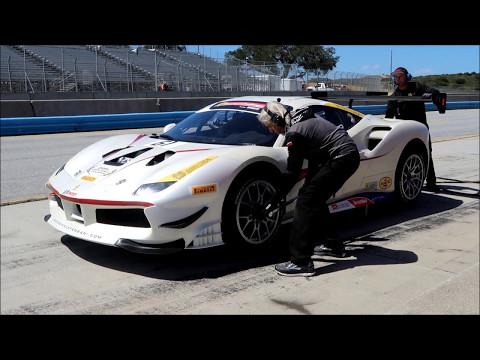 Ferrari Challenge at Mazda Raceway Laguna Seca